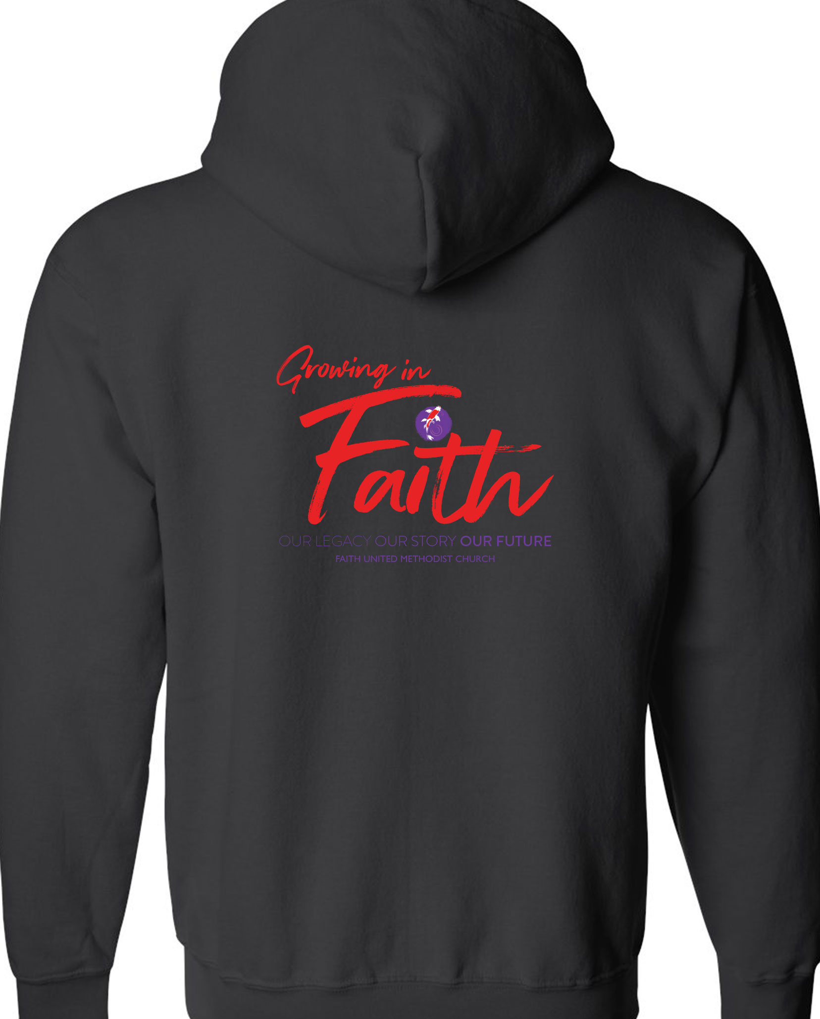 Faith UMC 60th Anniversary Full-Zip Jacket With Hoodie