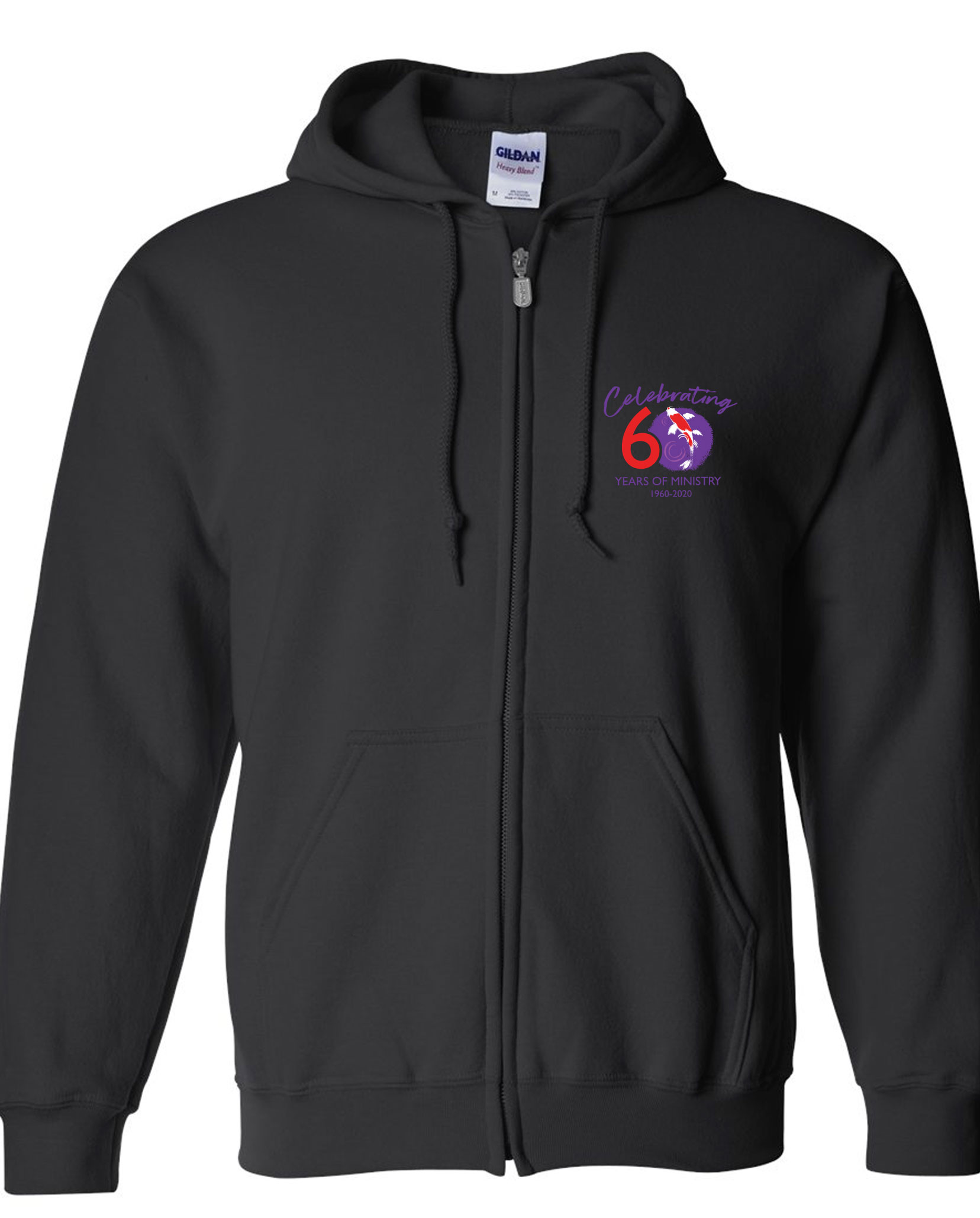 Faith UMC 60th Anniversary Full-Zip Jacket With Hoodie