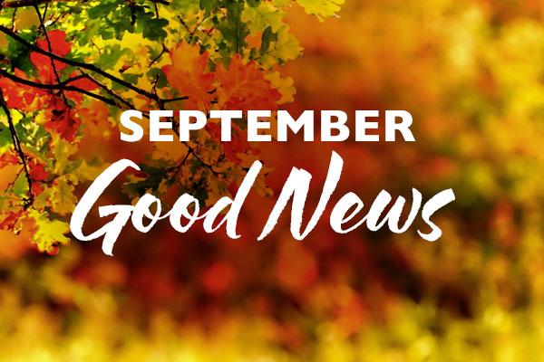 September Good News
