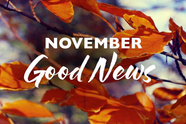 November Good News